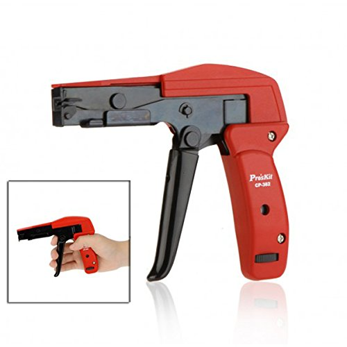Used, ProsKit CP-382 Cable Tie Gun Plier Cutting Tighting for sale  Delivered anywhere in Canada