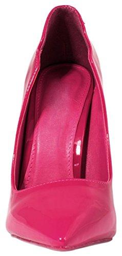 Elara Damen Pumps | Trendige Spitze Stilettos | High Heels| chunkyrayan Fushia Valé