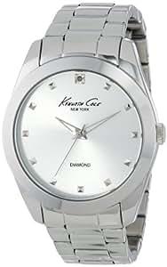 Kenneth Cole KC4947 - Reloj de pulsera Mujer, acero inoxidable, color Plata