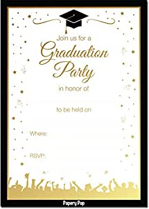 amazon com graduation party invitations with envelopes 30 pack