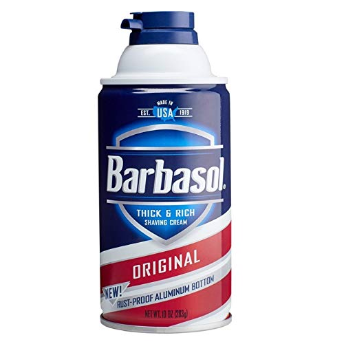 Barbasol Beard Buster Shaving Cream Original 10 oz (Pack of 6)