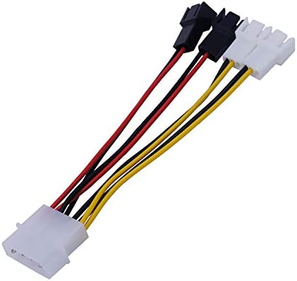 E-Meoly - Cable Divisor de Ventilador de D a 3 Pines para ...