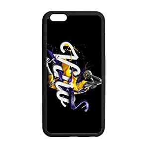 iPhone 6 Plus Case, [kobe] iPhone 6 Plus (5.5) Case Custom Durable Case Cover for iPhone6 TPU case(Laser Technology) by ruishername