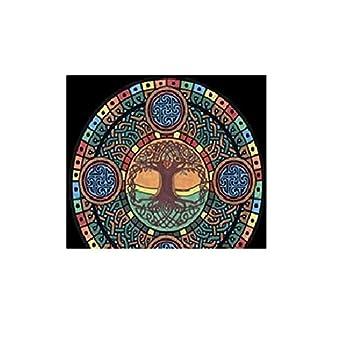 Colorvelvet Mce3 Albero Della Vita Celtico Mandala Simbolo