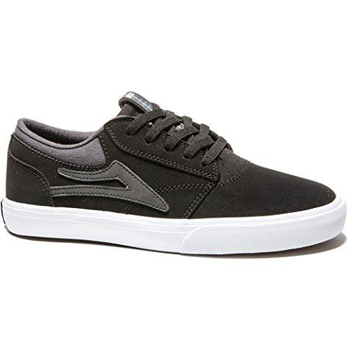 Lakai - Zapatillas de skateboarding de Material Sintético para niño Negro negro negro