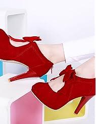 Women's Shoes Heel Heels / Platform Heels Outdoor / Dress / Casual Black / Red / Beige/B168