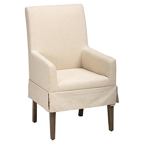 DCG Stores Hampton Slipcovered Dining Chair - Cream (Dining Slipcovered Chairs)