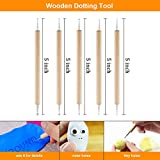 Polymer Clay Tools, Genround 25pcs Modeling Clay