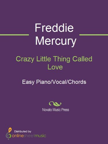 Crazy Little Thing Called Love - Kindle edition by Freddie Mercury ...