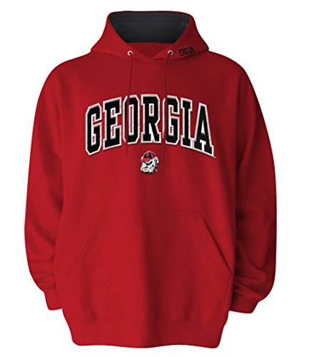 Georgia Bulldogs Embroidered Sweatshirt - 1