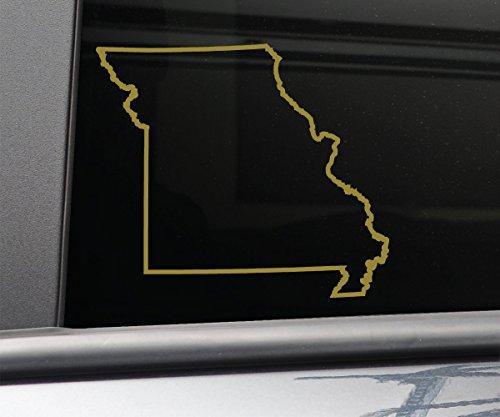 Missouri Vinyl Decal Laptop Car Truck Bumper Window Sticker, 5.5