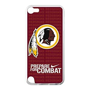 XiFu*MeiHoomin Washington Redskins Prepare For Combat Ipod Touch 5 Cell Phone Cases Cover Popular Gifts(Laster Technology)XiFu*Mei