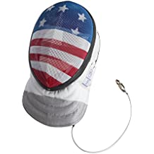 Fencing Foil Mask CE350N Certified National Grade Including Head Wire (Mask Cord) By American Fencing Gear