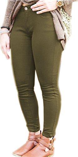Inc Vanilla Donna Khaki Jeans Vanilla Inc xnH71nFE