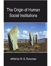 The Origin of Human Social Institutions