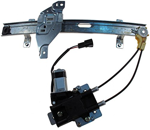 Dorman 741-709 Rear Passenger Side Replacement Power Window Regulator with Motor for Select Buick/Oldsmobile Models