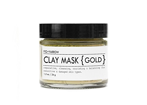 FIG+YARROW Organic Clay Mask - Yarrow Gold