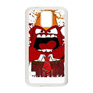 Samsung Galaxy S5 Cell Phone Case White SPLASHING ANGRY LSO7985981