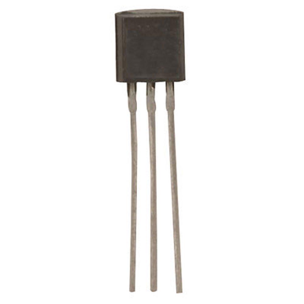 Major Brands MPSA06 Transistor, General Purpose, BJT, NPN, 80 Volt, 0.5 Amp, 3-Pin, 5.21 mm L x 5.33 mm H x 4.19 mm W (Pack of 30)