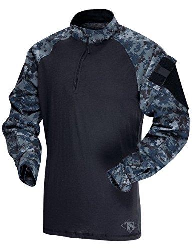 Atlanco Tru-Spec 65/35 Polyester/Cotton Rip-Stop 1/4 Zip ...