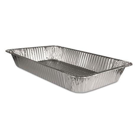 Extra Grande desechables Lámina De Aluminio Para Hornear/Asar bandeja de pan/(Gastronorm) Tamaño Completo Deep, 527 x 324 x 81 - Caja de 50: Amazon.es: ...