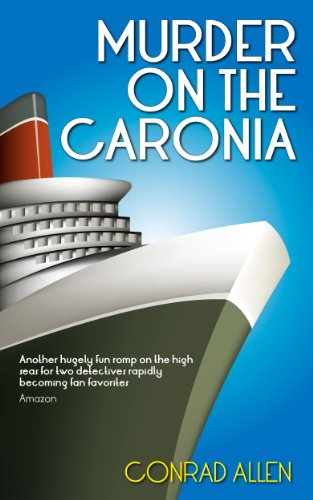 book cover of Murder on the Caronia
