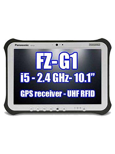 Panasonic Toughpad FZ-G1 FZ-G1Q2686KM Intel Core i5-6300U 2.40GHz, GPS Receiver, UHF RFID, 256GB SSD, 8GB Ram, Windows 7 Pro