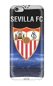 CLAGYAA1784MNHPU Sevilla Fc Logo Fashion Tpu 6 4.7 Case Cover For Iphone