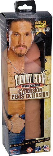 Topco Sales Tommy Gunn Be Him Cyberskin Penis Extension