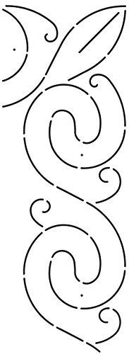 Corner Border Quilt Stencil (Quilting Creations Corner/Border Quilt Stencil)
