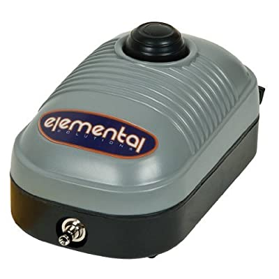 Elemental O2 Air Pump 44 GPH (One Outlet)