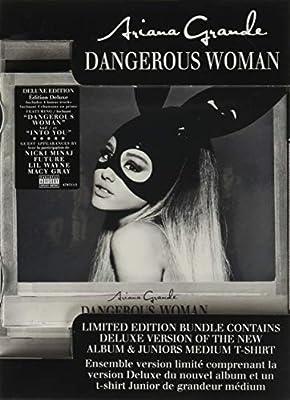 Ariana Grande- Dangerous Woman (deluxe/with Juniors Medium T-shirt/advisory)- Cd