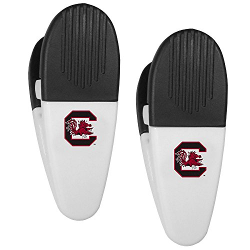 NCAA South Carolina Fighting Gamecocks Mini Chip Clip Magnets, Set of 2