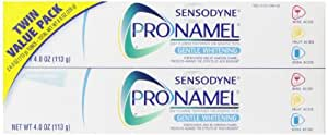 Sensodyne Pronamel Gentle Whitening Twin Pack Toothpaste, Alpine Breeze, 4 Ounce