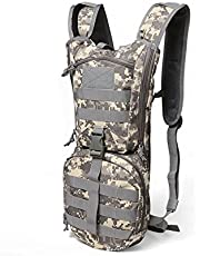 2.5L -3L Water Bag Molle Military Tactical Hydration Backpack Outdoor Camping Camelback Nylon Camel Water Bladder Bag for Cycling
