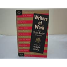 Writers at Work: The Paris Review Interviews featuring E.M. Forster, Dorothy Parker, James Thurber, Thornton Wilder, William Faulkner, Frank O'Connor, Robert Penn Warren, Truman Capote, and others
