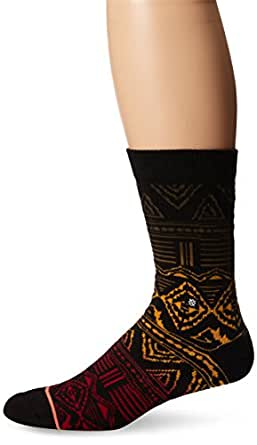 Stance Women's Good Vibes Everyday Crew Sock, Black, One Size