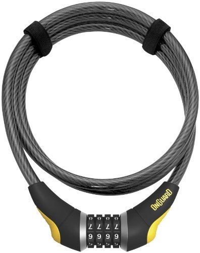 OnGuard 8000 Series Akita Combo 12mm Braided Steel Cable Lock - ()
