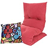 Futon Dobrável Solteiro + Almofada Decorativa - Emcompre