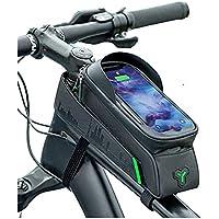 """Bolsa Quadro de Bicicleta Rockbros City Celular Tela Grande 6.5"""" Touch Screen Prova d´Água"""
