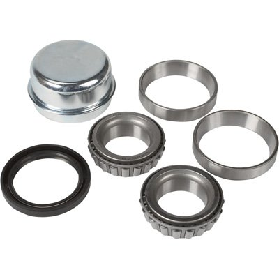 Ultra-Tow High-Performance Hub Bearing/Seal Kit - 1 1/4in. Inner Bearing, 1 1/4in. Outer Bearing, 1 1/2in. Double-Lip Spring-Loaded Oil Seal, 2.328in. Dust Cap, Model Number 5712585 by Ultra-Tow