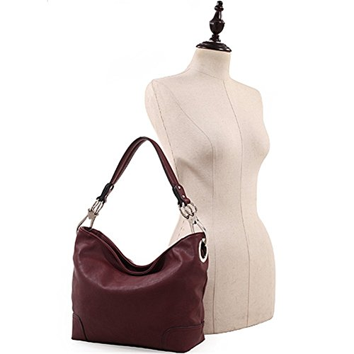 Lydia Key and Carry Black Lock Handbag Hobo Concealed rgIHFqxr