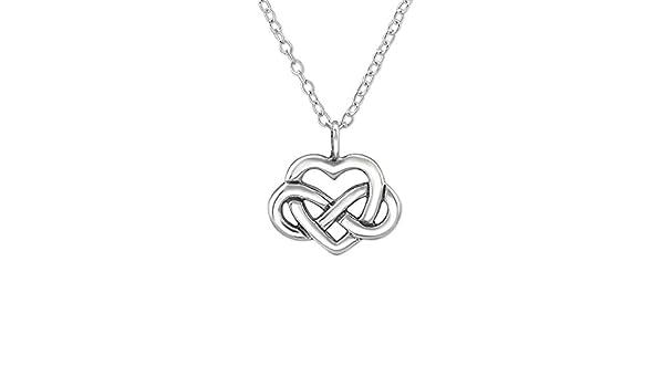 Atik Jewelry Silver Triangular Celtic Knot Necklace