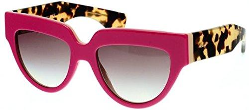 Prada PR29PS Sunglass-SL1/0A7 Top Fuxia/Beige (Gray Gradient - Glasses Pink Prada