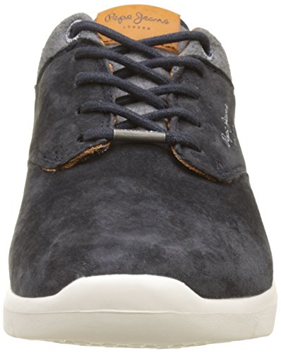 marine Jeans Pepe Bleu Homme Sneakers Basses Jayden Suede B0x0FqfA