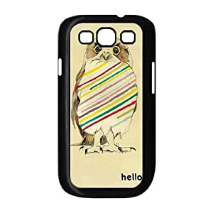 Lovely Owl Cheap Cover Case for Samsung Galaxy S3 I9300,diy Lovely Owl Cell Phone Case