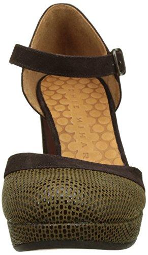 Cinturino Caf Donna Oliva con Verde ante Savile alla TISA Scarpe Caviglia Chie Mihara qwCTgaf