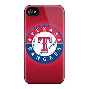 LittleBox Snap On Hard Case Cover Texas Rangers Protector For Iphone 4/4s