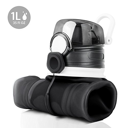 MeanLove Collapsible Fasionable FDA approved Water bottle product image
