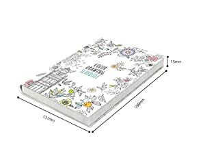 """'Color Drawing Schedule' Coloring Books Monthly Weekly Daily Planners Academic Planner Organizer Agenda, 114 Sheets, 5.1"""" X 7.4"""""""